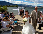 Okanagan Beach Wedding